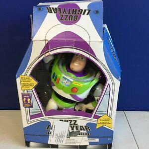 Toy Story Disney Advanced Talking Buzz Lightyear Action Figure 12 in
