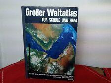 Großer Weltatlas für Schule und Heim - über 100 Seiten + 48 Karten - 1968  /S117