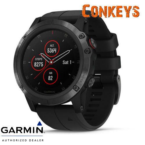 Garmin 5x Fenix 5x Garmin Plus GPS Watch W/ Wrist Heart Rate Technology 010-01989-00 902658