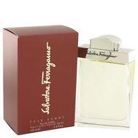 Salvatore Ferragamo Cologne Men Eau De Toilette Spray 3.4 Oz Fragrance