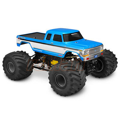 Monster Truck Rc Cars >> Jconcepts 1979 Ford F 250 Supercab Monster Truck Rc Cars Clear Body 329 Ebay