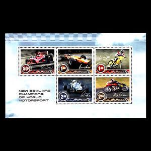 New Zealand 2009 New Zealand Champions Of Motor Sport Sc 2235a Mnh Ebay