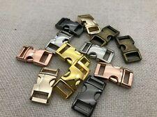 """5//8/"""" Metal Square Ring Non-Welded Nickel Steel Metal Loop Buckle 10 pcs USA#SR24"""