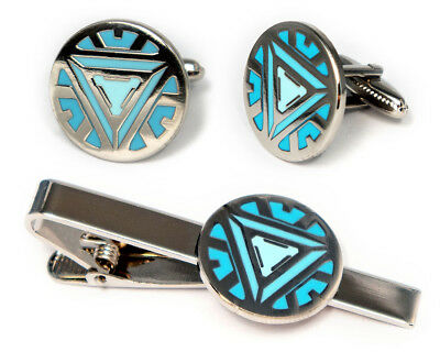 Iron Man cufflinks Iron Man accessories Iron Man jewelry
