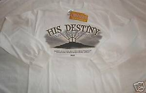 HIS-DESTINY-TO-CHANGE-OURS-Long-Sleeve-SMALL-T-Shirt-Kerusso-Christian-Apparel