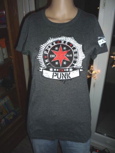 Taille xxl All S shirt l Wwe Size xl Women For m Femme Punk Aj Catch T Cm Tpq16n