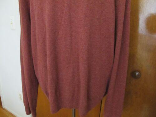 Bloomingdale's cuello Cashmere Nwt 884915487671 Xxl Suéter Tamaño redondo Cinnamon con 8rIPrq