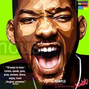 Will Smith Love Quotes New Will Smith Canvas Quotes Wall Decals Photo Painting Framed Pop Art