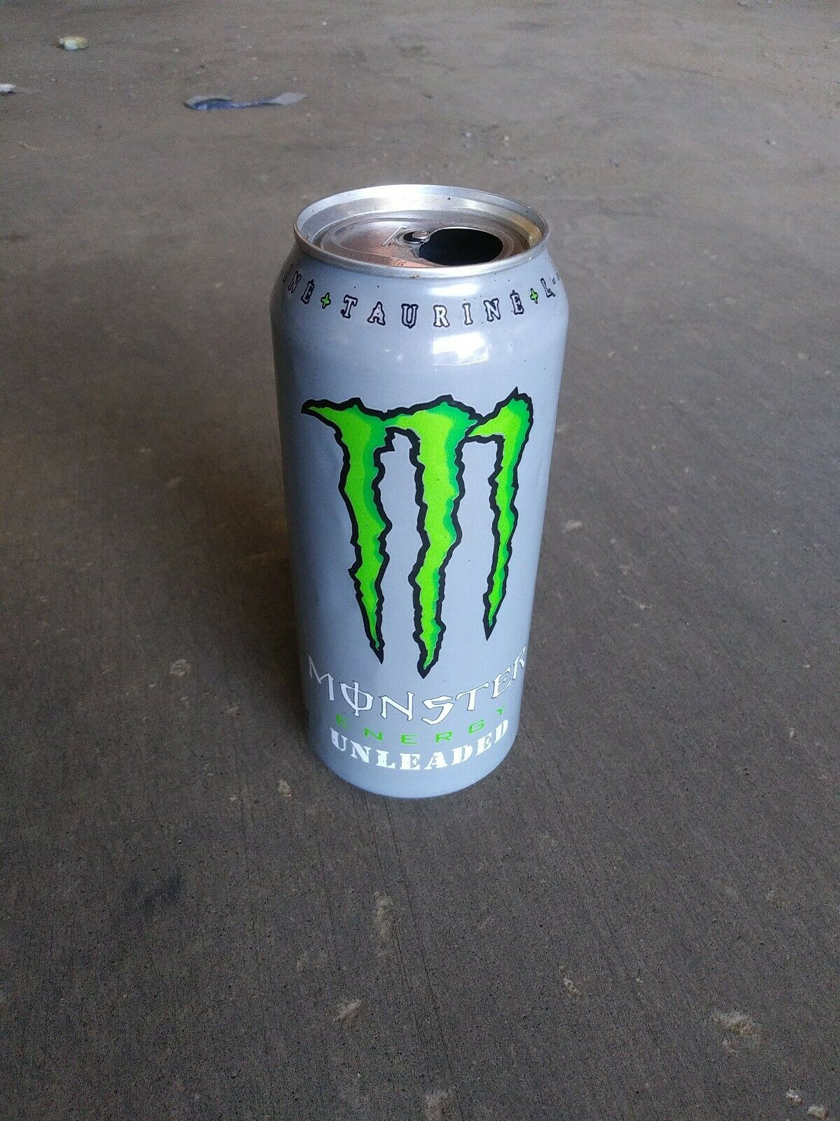 Monster Energy Unleaded Discontinued Very Rare Empty Can Monster Energy Drink For Sale Online