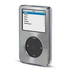 Gray-Apple-iPod-Classic-Aluminum-Plated-Hard-Case-Cover-6th-80-120gb-7th-160gb