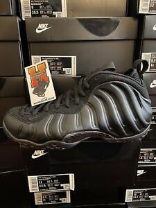 Details about 2020 NIKE FOAMPOSITE ONE ALL BLACK 2020 ANTHRACITE 314996 001  GS & MEN SZ:4Y-14
