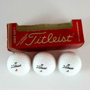Titleist-384-DT-90-Compression-Golf-Balls-Pack-of-3-DT-4