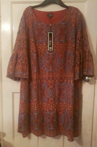 Lovedrobe  Women/'s Plus  Double Pleated Sleeve Shift Dress r.r.p £55