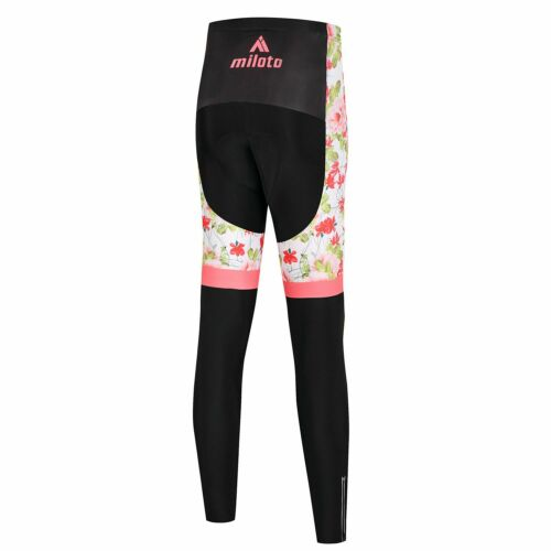 Miloto Women/'s Winter Cycling Trousers Thermal Cycle Fleece Tights Pants Padded