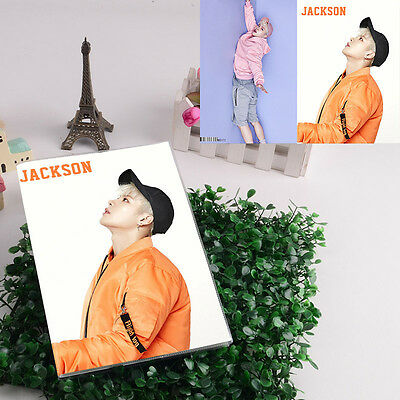 JACKSON GOT7 KPOP NOTEBOOK NEW GOODS FLY FLIGHT LOG DBJB372