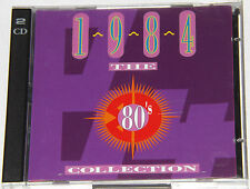 The 80's Collection 1984 (EU Time Life 24 Track Double CD Album) Rare - Timelife