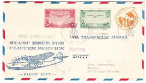 Sc#C22,#C21-FIRST DAY OF ISSUE-WASHINGTON FEB/15/1937-REGISTERED-FIRST