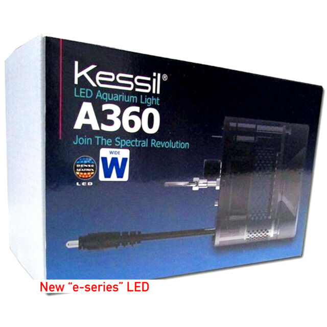 AC Adapter For Kessil A360WE Wide Angle Dimmable Aquarium Tuna Blue 90 Watt LED