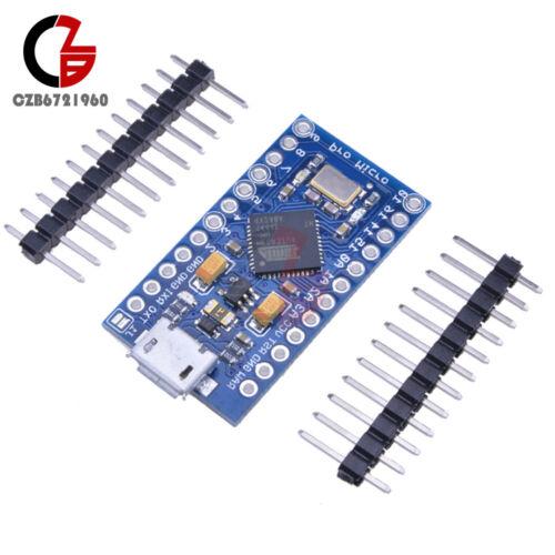 10PCS Leonardo Pro Micro ATmega32U4 8MHz 3.3V Replace ATmega328 For Arduino