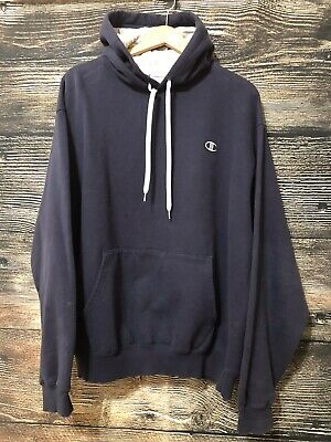 Champion Eco Authentic Hoodie Sweatshirt with Pockets NEW