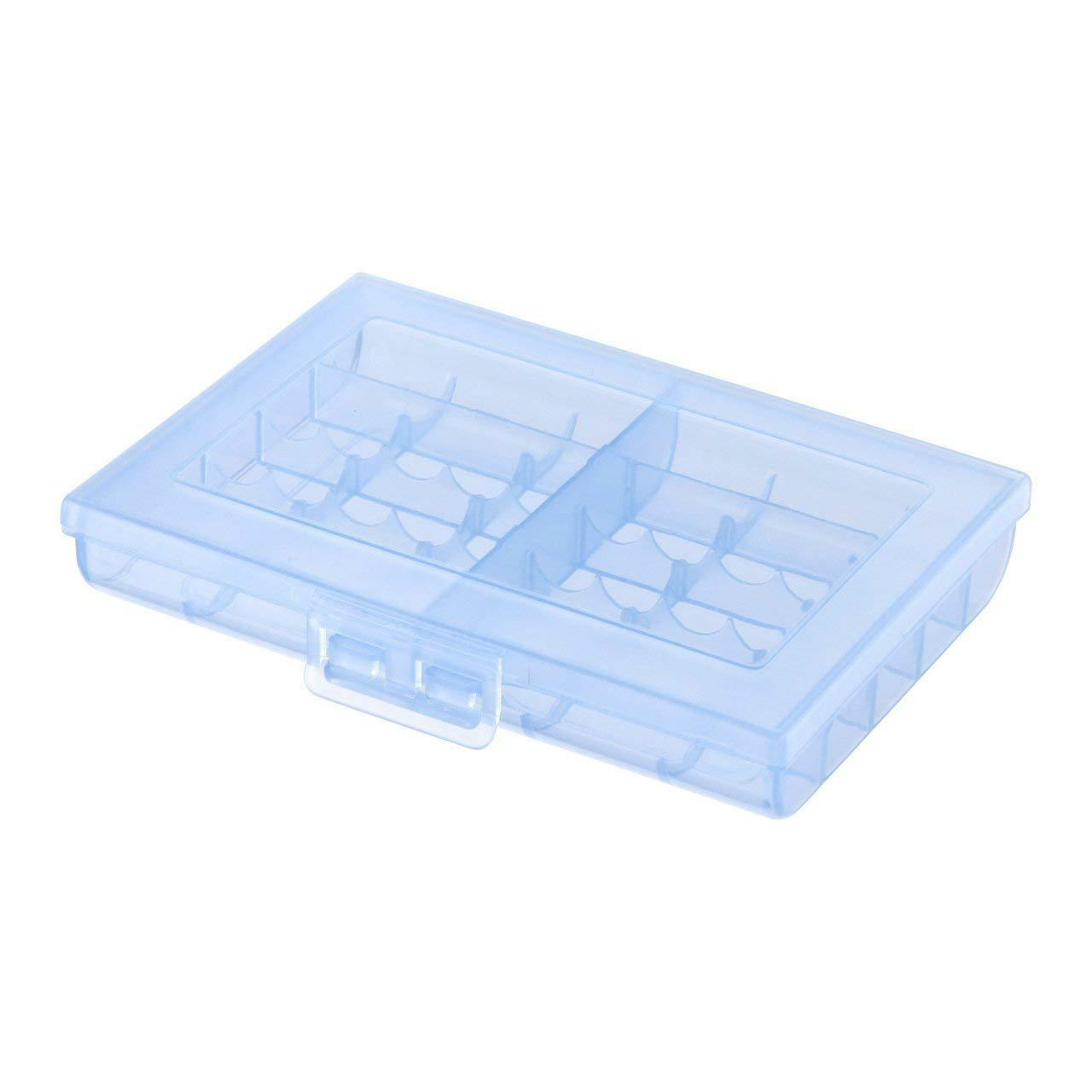 Sanwa Eneloop Storage Case for Rechargeable AA & AAA Battery case Holder Blue
