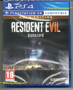 Resident-Evil-7-Biohazard-Gold-Edition-VR-034-New-amp-Sealed-039-PS-4