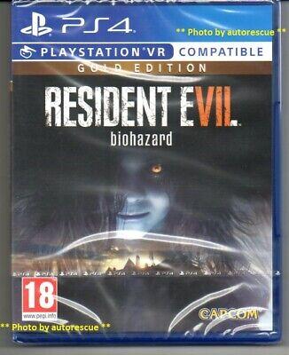 Resident Evil 7 Biohazard Gold Edition Vr New Sealed Ps4 Ebay
