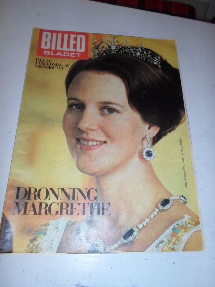 Bøger og blade, Dr. Magrethe tronskifte særtillæg