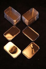 25 AIRTITE HOLDERS (CAPSULES) FOR 1oz SILVER BARS, Air-tite Silver Bar Cases