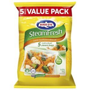 Birds-Eye-Frozen-Steam-Fresh-Carrot-Cauliflower-amp-Broccoli-5-pack-750-gram