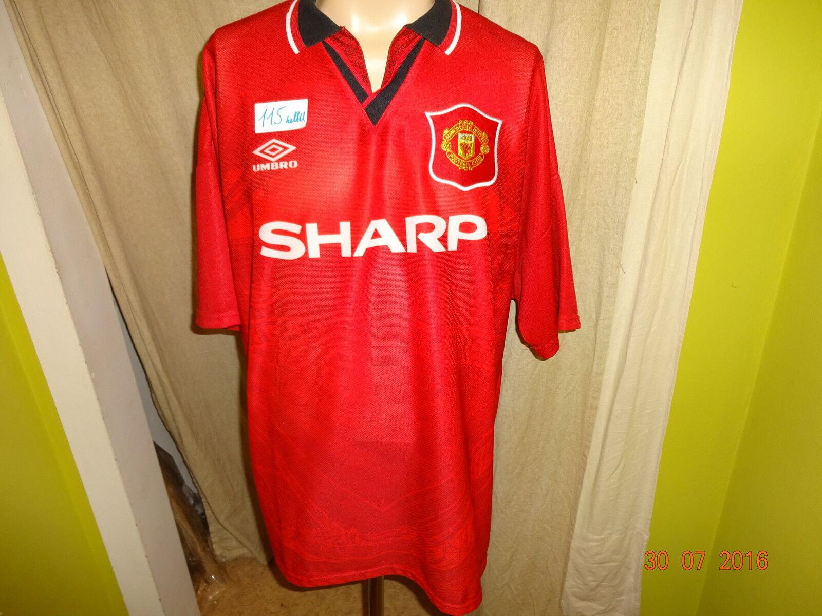 Manchester United Original umbro Meister Trikot 1994-1996  SHARP  Gr.XXL TOP  | Vielfältiges neues Design