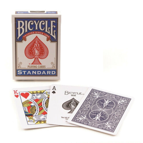 Bicycle Standard Index Poker Playing Cards 1 Sealed Blue Deck