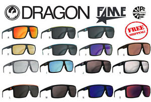 DRAGON FAME Sunglasses Matte Grey Green Ion Jet Teal Plasma Rose ... b5035efac5