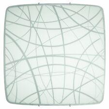 Gale 60W Wand- und Deckenleuchte, weiß/grau Brilliant NEU OVP