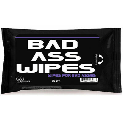Prank Smart Ass Wet Wipes Smartass Funny Joke Gift for Sarcastic People