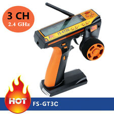 Flysky FS-GT3C 2.4GHz 3CH AFHDS Fernsteuerung Sender&Empfänger für RC Auto Boot