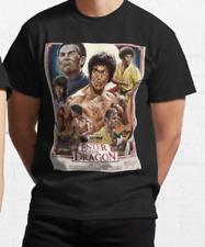 Elvis Presley Karate Master Kampf König Schwarz Gürtel Dragon T-Shirt Erwachsene