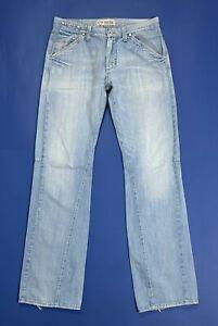 Meltin-pot-mertel-jeans-uomo-usato-W31-L34-tg-45-denim-straight-boyfriend-T5115