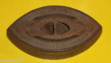 Early 1900s Wood Stove Heated Enterprise Pressing Iron No Handle! Nice See!