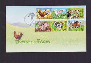 Australia-2005-Down-on-Farm-New-Farm-PMK-Pig-Cow-Chicken-Lamb-Goat-Horse-J-421