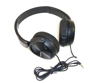 Authentic-Sony-MDR-ZX110NC-Noise-Cancelling-Headphones-Black-Free-Shipping