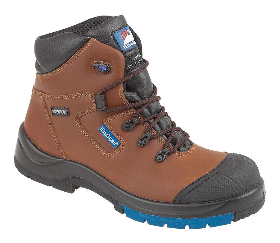 Himalayan 5161 s3 SRC Brown hygrip composito metal free Impermeabile Stivali di sicurezza