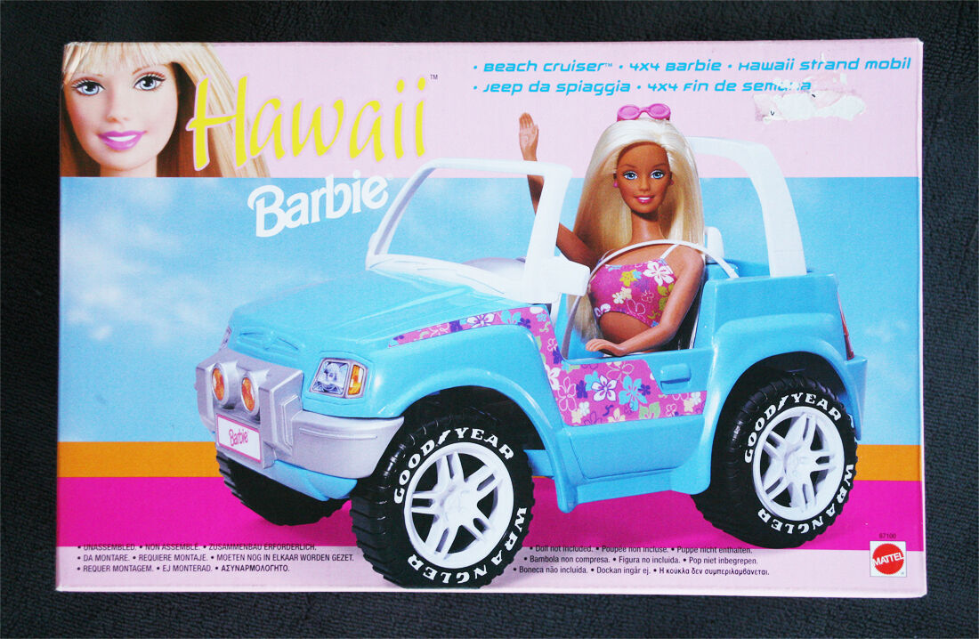 BARBIE BEACH CRUISER (1999). HYPER RARE  HAWAIIAN  VERSION  BRAND NEW OLD STOCK