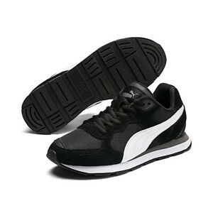 Puma Vista Junior Kinder Sneaker Turnschuh schwarz 369539 01