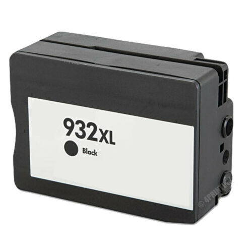Black 932XL Ink Fits HP 932XL 932 ink Officejet 6100 6600 6700 New Chip