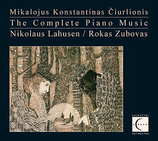 THE COMPLETE PIANO MUSIC OF MIKALOJUS KONSTANTINAS CIURLIONIS - 5-CD BOXED SET
