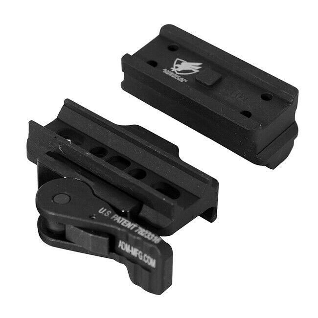 ADM AD-B2-T1 Tac Lever Micro Mount w  CO Riser compatible with Aimpoint