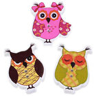 50pcs Cartoon Owl Animal Wood Sewing Buttons Children Kids Buttons Clothing DIY