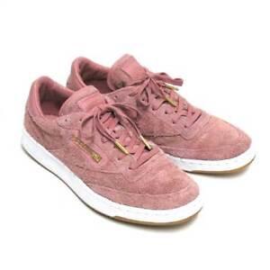 Reebok x Barneys New York Sole Series Club C 85 Pink Suede Shoes ... b0ead2b9e