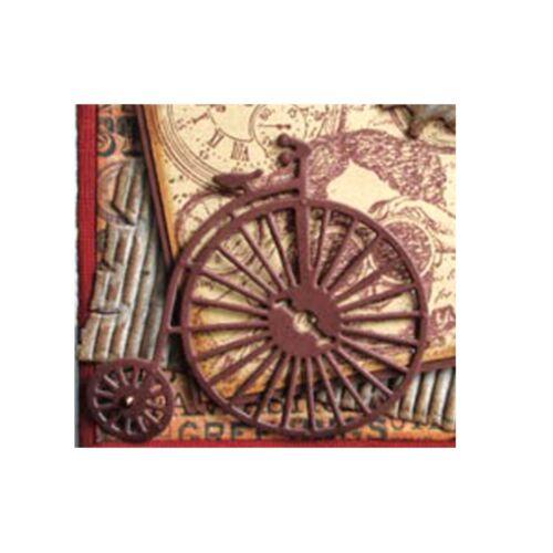 Vintage Bicycle Metal Die Cut Marianne LR0262 Cutting Dies Bike Antique